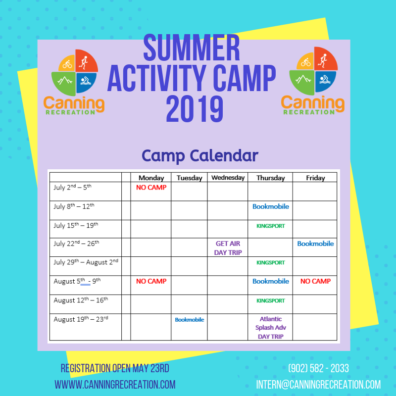 Copy of Activity Camp 2019